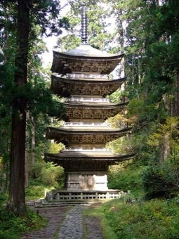 Five tier pagoda at mt. haguro 2006 10 29 1528093164