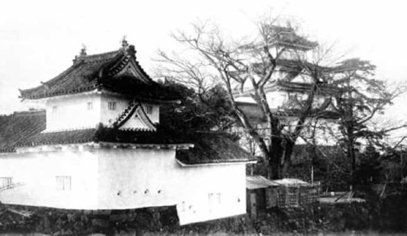 Old ogaki castle in 1933 1528093655