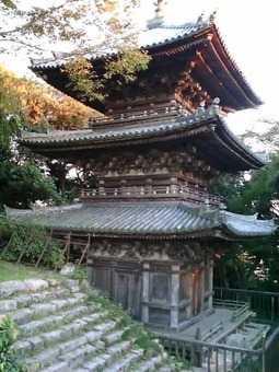 Azuchi town sokenji tower 1528093733