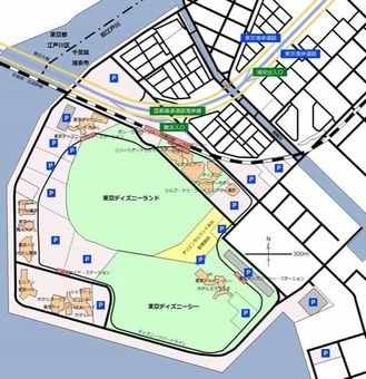 The map of tokyo disney resort  28japanese 29 1528096569