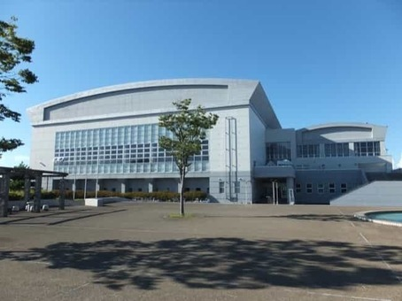 Noshiro city general gymnasium 1528096808