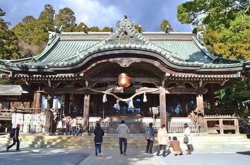 Tsukubasan jinja haiden 1528096952