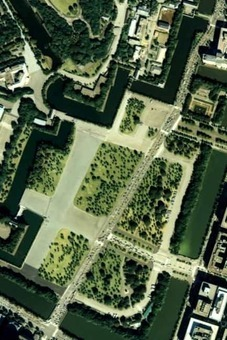 Outer garden of the imperial palace japan 1989 air 1528097263