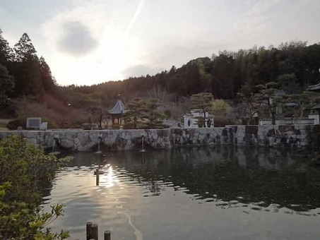 Chinese garden in makibi park 1528088477
