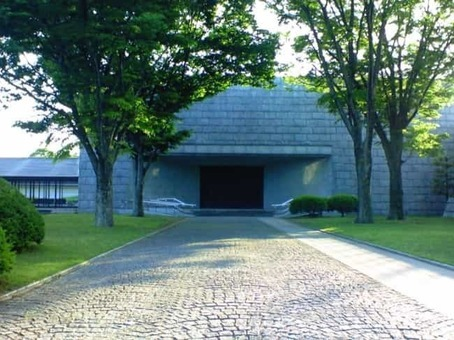 Main building of ibaraki prefectural museum of history 1528092632